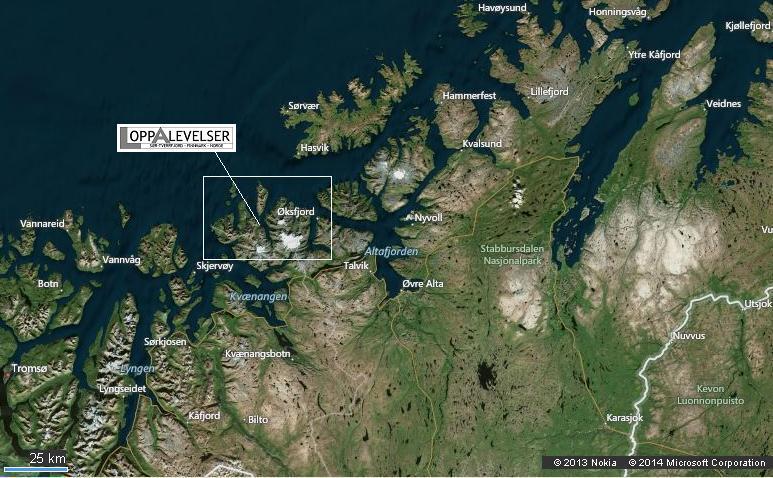 Kart Troms-Finnmark