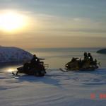 Scootertur  mot Lopphavet