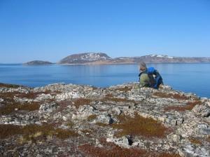 utsikt til Loppa øy