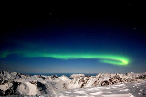 Nordlysbilde Foto Nils Larsen